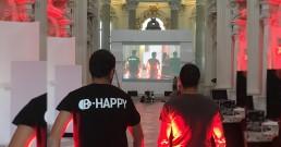 Team B-Happy nella Cappella di Sant'Uberto - Reggia di Venaria Torino