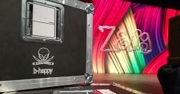 Bauli B-Happy sul palco di Zelig Cabaret_Milano