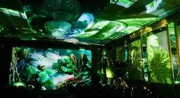 Proiezione immersiva B-Happy all'Hotel Principe di Savoia di Milano