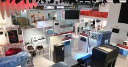 Installazione monitor B-Happy per Stand Mitsubishi Electric_MCE 2018
