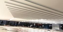 Montaggio eliche per Stand Mitsubishi Electric_MCE 2018