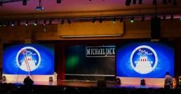 Ledwall B-Happy installati per la Convention SanPaolo Invest Fideuram a Cancun, Messico