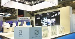 Ledwall Sir Robotics ad Automatica 2018_Monaco